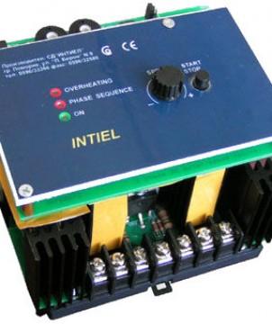 Регулатор на обороти за вентилатори с асинхронни двигатели