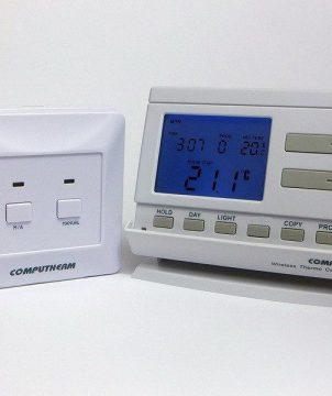 Програмируем радиоуправляем стаен термостат Computherm Q7FR